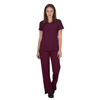 SCRUB-WOMAN-STRETCH-BORDEAUX